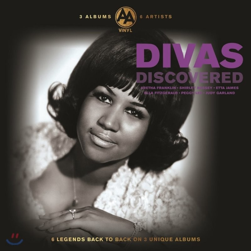 여성 보컬 모음집 - 엘라 피츠제랄드 / 페기 리 / 주디 갈란드 (Discovered Divas) [3LP]