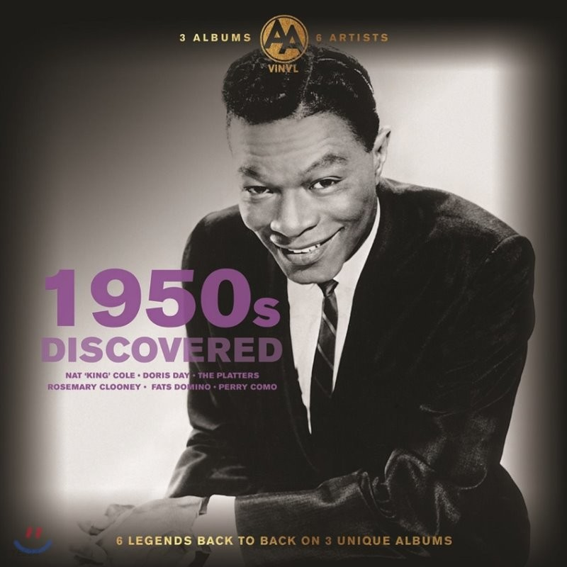 1950년대 미국 음악 모음집 (Discovered 1950s) [3LP]