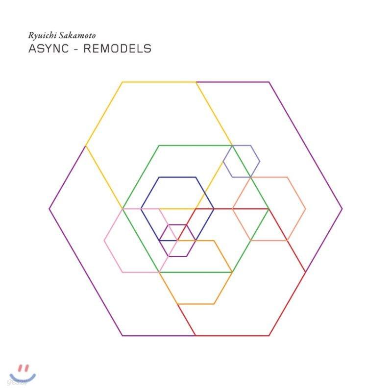 Ryuichi Sakamoto (류이치 사카모토) - Async Remodels [2LP]