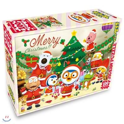 뽀로로 직소퍼즐 100PCS : 크리스마스 홈파티
