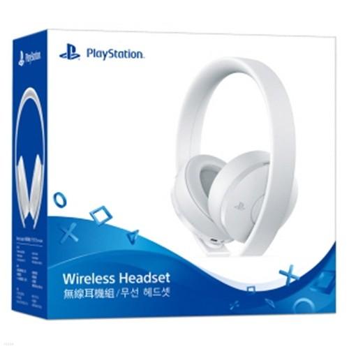 PS4 소니 무선 스테레오 헤드셋 화이트 / 신형 (PSVITA/PSVR 호환)