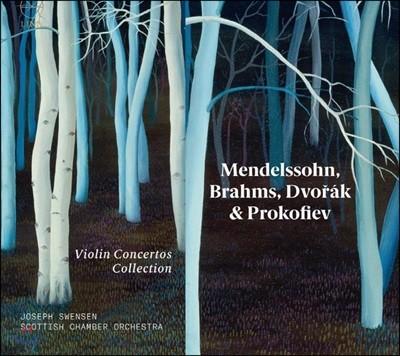 Joseph Swensen 멘델스존 / 브람스 / 드보르작 / 프로코피예프: 바이올린 협주곡 콜렉션 (Violin Concertos Collection) [4CD]