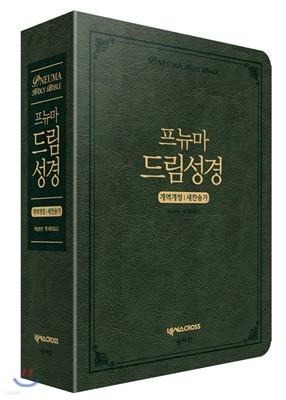 프뉴마 드림성경 (대/합본/색인/지퍼/다크 그린)