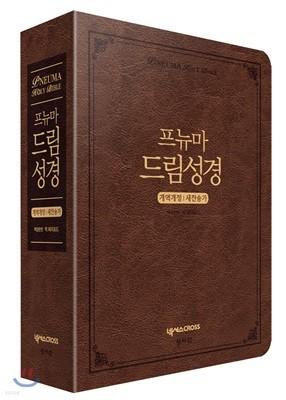 프뉴마 드림성경 (대/합본/색인/지퍼/다크 브라운)