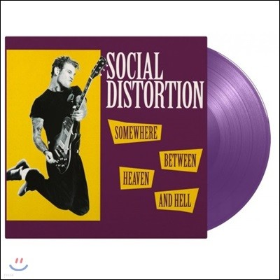 Social Distortion (소셜 디스토션) - Somewhere Between Heaven And Hell [퍼플 컬러 LP]
