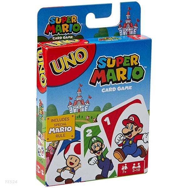 마텔 우노 슈퍼마리오 카드게임 보드게임