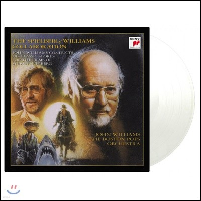 John Williams / Steven Spielberg Collaboration 존 윌리엄스가 작곡한 스필버그 영화음악 1집 [투명 컬러 2LP]