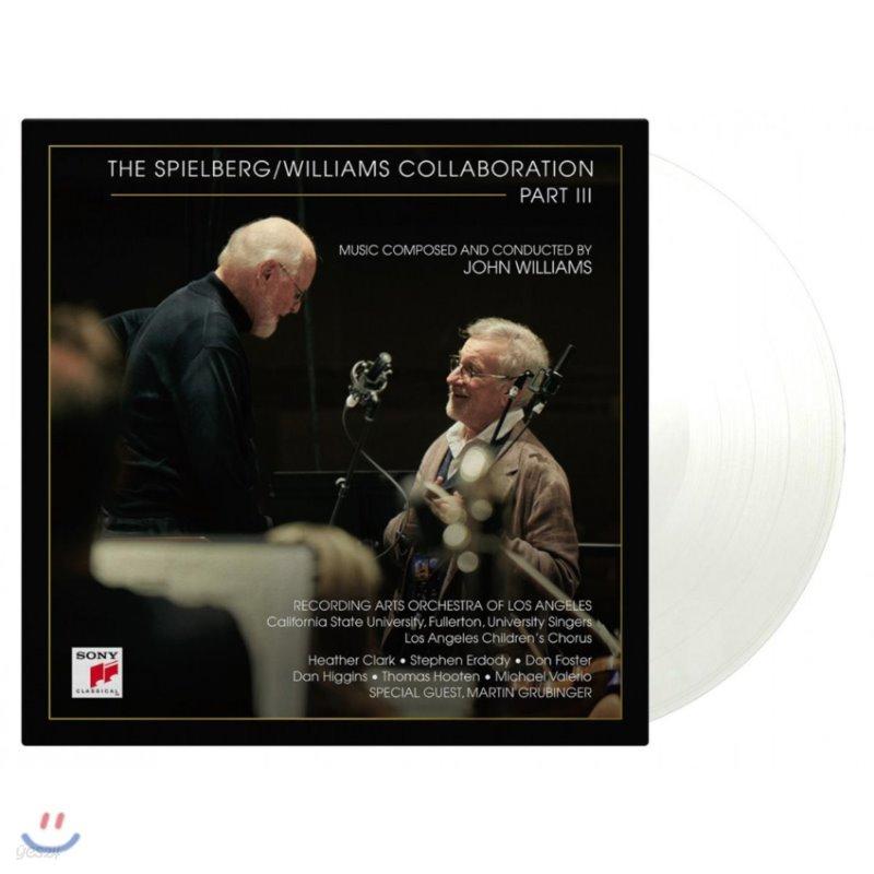 John Williams / Steven Spielberg  Collaboration Part III 존 윌리엄스가 작곡한 스필버그 영화음악 3집 [투명 컬러 2LP]