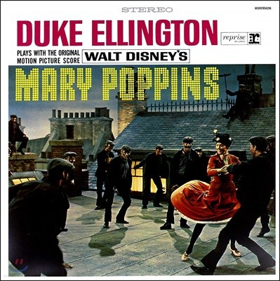 뮤지컬 `메리 포핀스` 스코어 영화음악 (Duke Ellington Plays With The Score Mary Poppins) [LP]