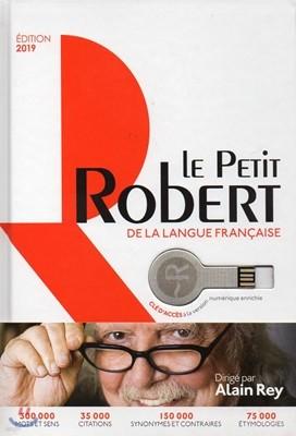 Le Petit Robert 2019 (+ Cle USB)