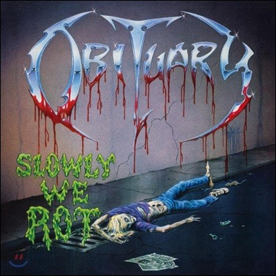 Obituary (오비츄어리) - Slowly We Rot [LP]