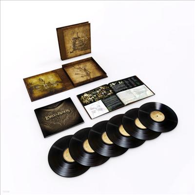 Howard Shore - The Lord Of The Rings: Trilogy (반지의 제왕: 삼부작) (Soundtrack)(Ltd. Ed)(180G)(6LP Boxset)