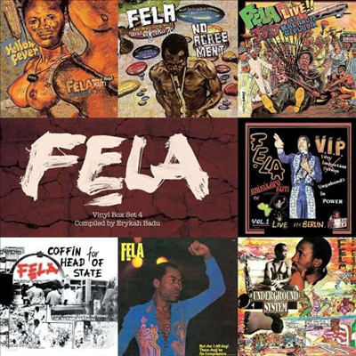 Fela Kuti - Vinyl Box Set 4 (Compiled By Erykah Badu) (Ltd. Ed)(7LP Boxset)