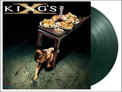 King's X (킹즈 엑스) - King's X [솔리드 모스 그린 컬러 LP]