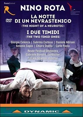 Gabriele Bonolis 니노 로타: 잠 못 이루는 밤, 어리숙한 두 사람 (Rota: La notte, di un di un Nevrastenico)