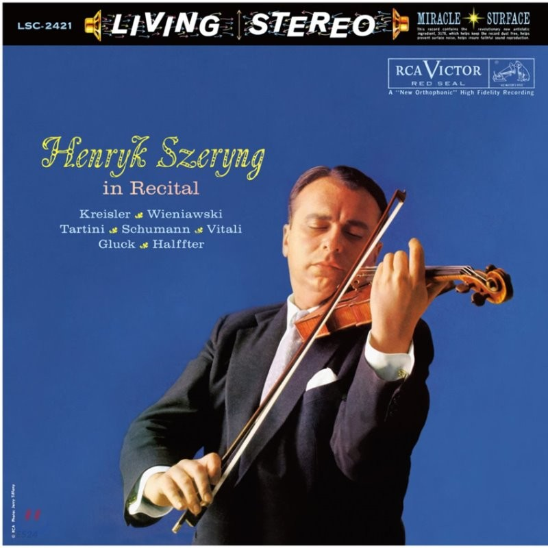 헨릭 셰링 리사이틀 (Henryk Szeryng in Recital) [LP]