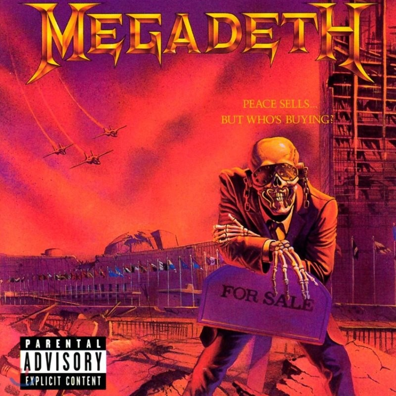 Megadeth (메가데스) - Peace Sells... But Who's Buying? [퍼플 컬러 LP]