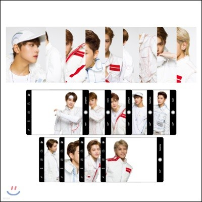 NCT 127 [NEO CITY : SEOUL - The Origin]- 엽서세트+클리어프레임
