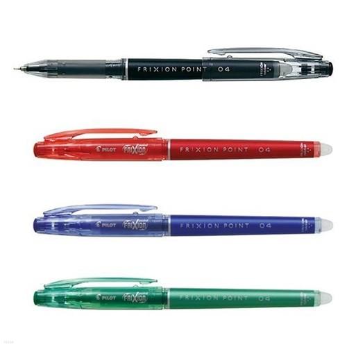 파이롯트 FRIXION POINT 프릭션포인트 0.4 펜