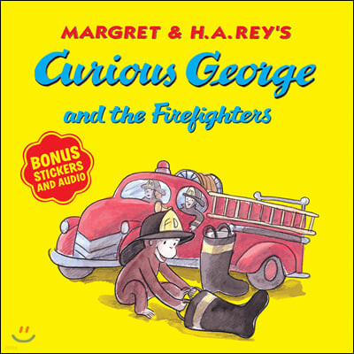 Curious George and the Firefighters [With Bonus Stickers and Audio]