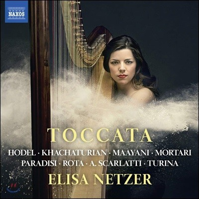 Elisa Netzer 하프로 연주하는 토카타 작품집 (Toccata)