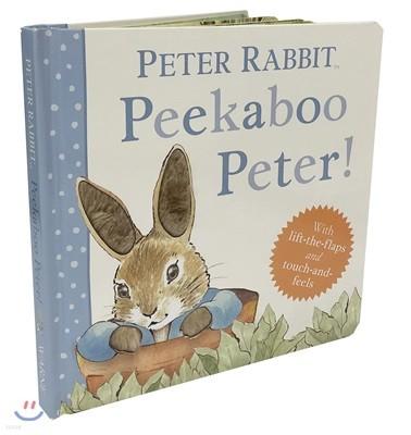 Peekaboo, Peter! : 피터 래빗 피카부 (플랩북 / 촉감책 / 까꿍책)