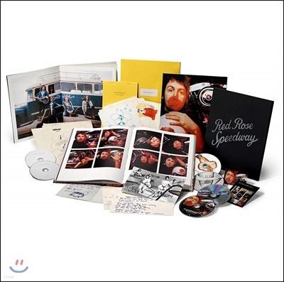 Paul McCartney & Wings (폴 매카트니 앤 윙즈) - Red Rose Speedway (Super Deluxe Edition) [3CD+2DVD+1Blu-ray]