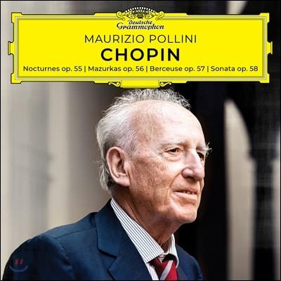 Maurizio Pollini 쇼팽: 녹턴, 마주르카 (Chopin: Nocturnes, Mazurkas, Berceuse, Sonata, Op. 55-58)