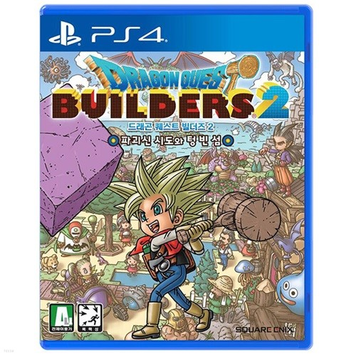 PS4 드래곤퀘스트 빌더즈 2 한글 초회판