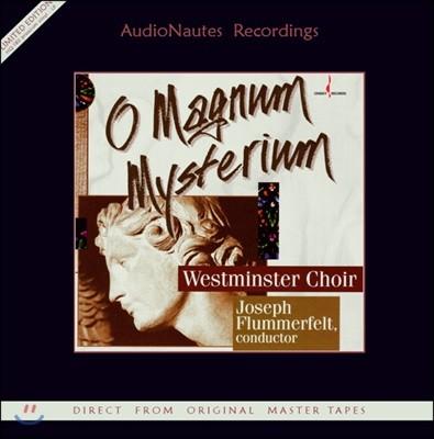 Westminster Choir 웨스트민스터 합창단 성가곡 모음집 (O Magnum Mysterium) [LP]