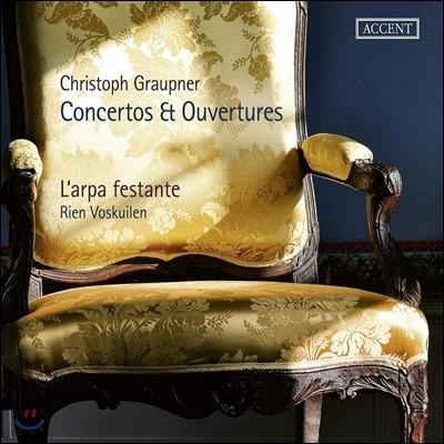 Rien Voskuilen 크리스토프 그라우프너: 협주곡과 서곡 (Christoph Graupner: Concertos, Overtures)