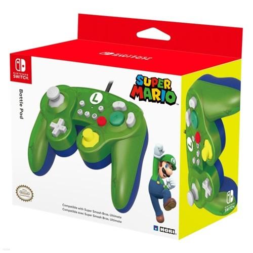 [스위치 주변기기]호리 클래식컨트롤러 for Nintendo Switch 루이지