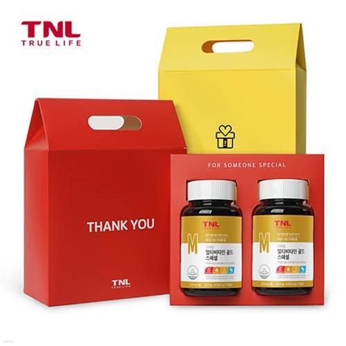 TNL뉴트리션 멀티비타민 골드(병) 2개입 선물세트