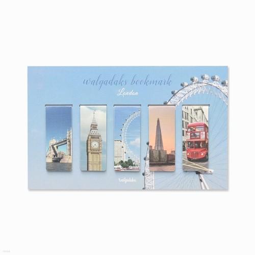 마그네틱 북마크 - 런던 5P
