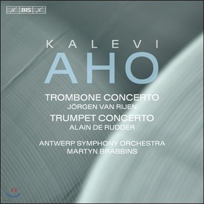 Jorgen van Rijen 칼레비 아호: 트롬본 협주곡, 트럼펫 협주곡 (Kalevi Aho: Trombone and Trumpet Concerto)