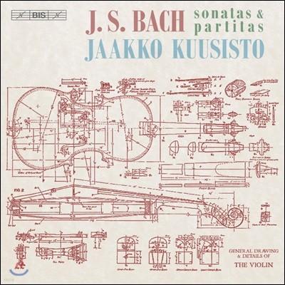 Jaakko Kuusisto 바흐: 무반주 바이올린 소나타와 파르티타 (Bach: Sonatas and Partitas For Solo Violin, BWV1001-1006)