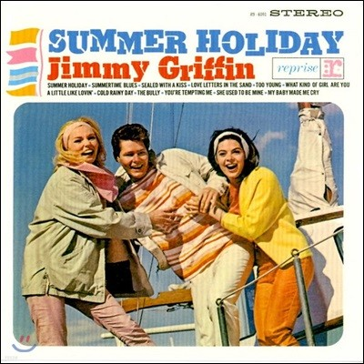 Jimmy Griffin (지미 그리핀) - Summer Holiday 1집