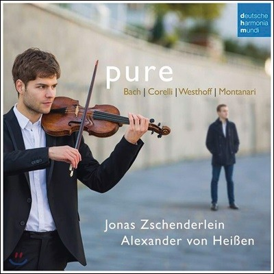 Jonas Zschenderlein 바흐 / 코렐리 / 베스토프 / 몬타나리: 바이올린과 하프시코드를 위한 작품집 (Bach In Italy)