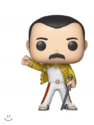 Pop Queen Freddie Mercury Jacket Vinyl Figure (Wembley 1986)