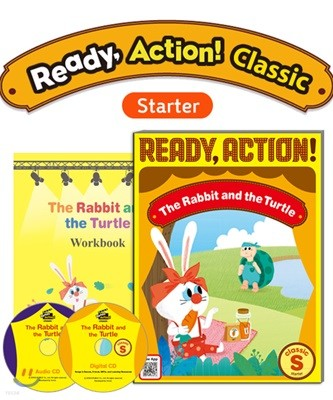 Ready Action Classic (Starter) : The Rabbit and the Turtle