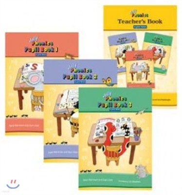 Jolly Phonics Class Set in Print Letters