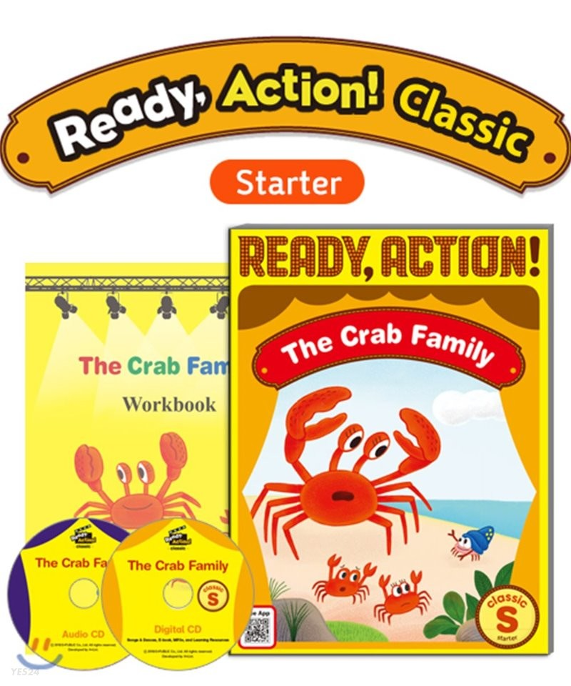 Ready Action Classic (Starter) : The Crab Family