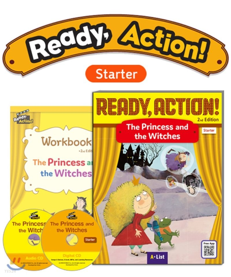 Ready Action Starter : The Princess and the Witches