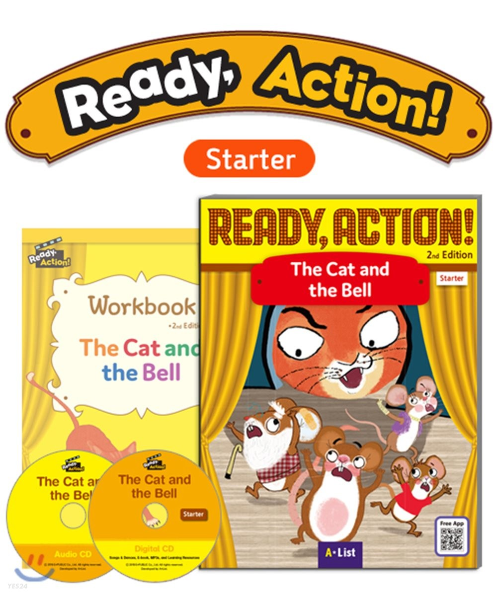Ready Action Starter : The Cat and the Bell
