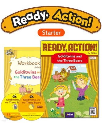 Ready Action Starter : Golditwins and the Three Bears