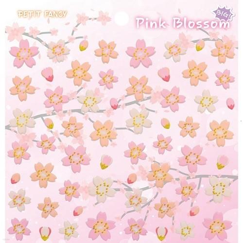 [쁘띠팬시]♥PINK BLOSSOM / Pom Cherry Blossom♥빅사이즈 벚꽃스티커