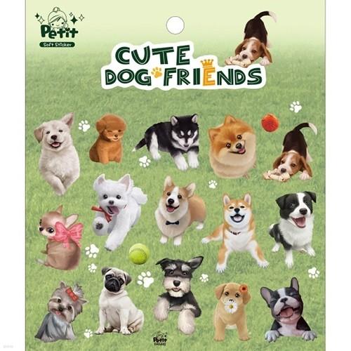 [쁘띠팬시]♥CUTE CAT FRIENDS/CUTE DOG FRIENDS 스티커♥