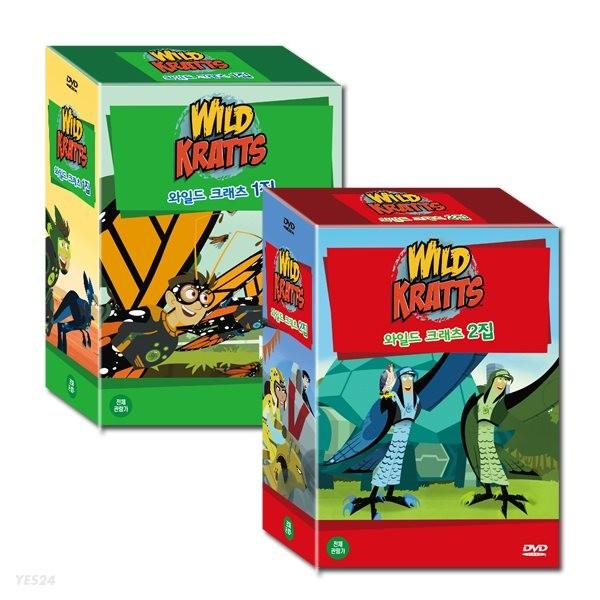 와일드 크래츠 Wild Kratts 1+2집 20종세트