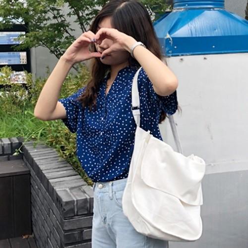 주머니 데일리 에코백 캔버스백 가벼운가방