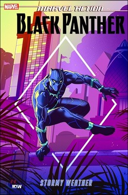 Marvel Action - Black Panther - Stormy Weather 1